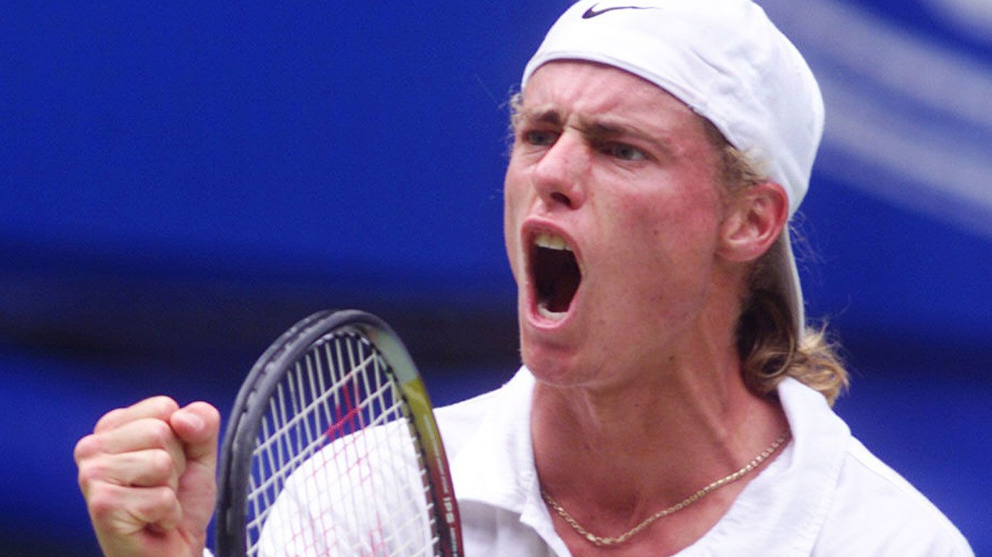 Lleyton Hewitt at the 2000 Australian Open