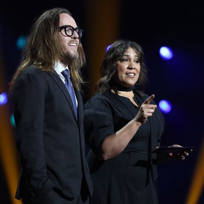 Tim Minchin and Kate Ceberano