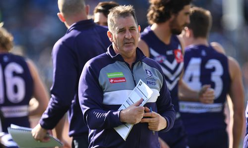 The pressure has been piling on coach Ross Lyon to turn the team around.