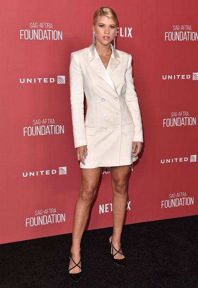 <p>Who: Sofia Richie</p> <p>Richie is&nbsp;the 19-year-old daughter of musician Lionel Richie and Brenda Harvey, sister of Nicole Richie and current beau of reality star Scott Disick. Richie has walked forTommy Hilfiger, Michael Kors, Chanel and&nbsp;Dolce &amp; Gabbana.</p> <p>The aspiring model is currently the face of skincare brand Nip Fab.</p> <p>at Dolce &amp; Gabbana, Milan Fashion Week.</p>