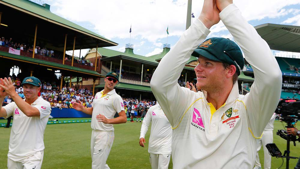 Steve Smith hits out at photos of Ashes cricketers celebrating