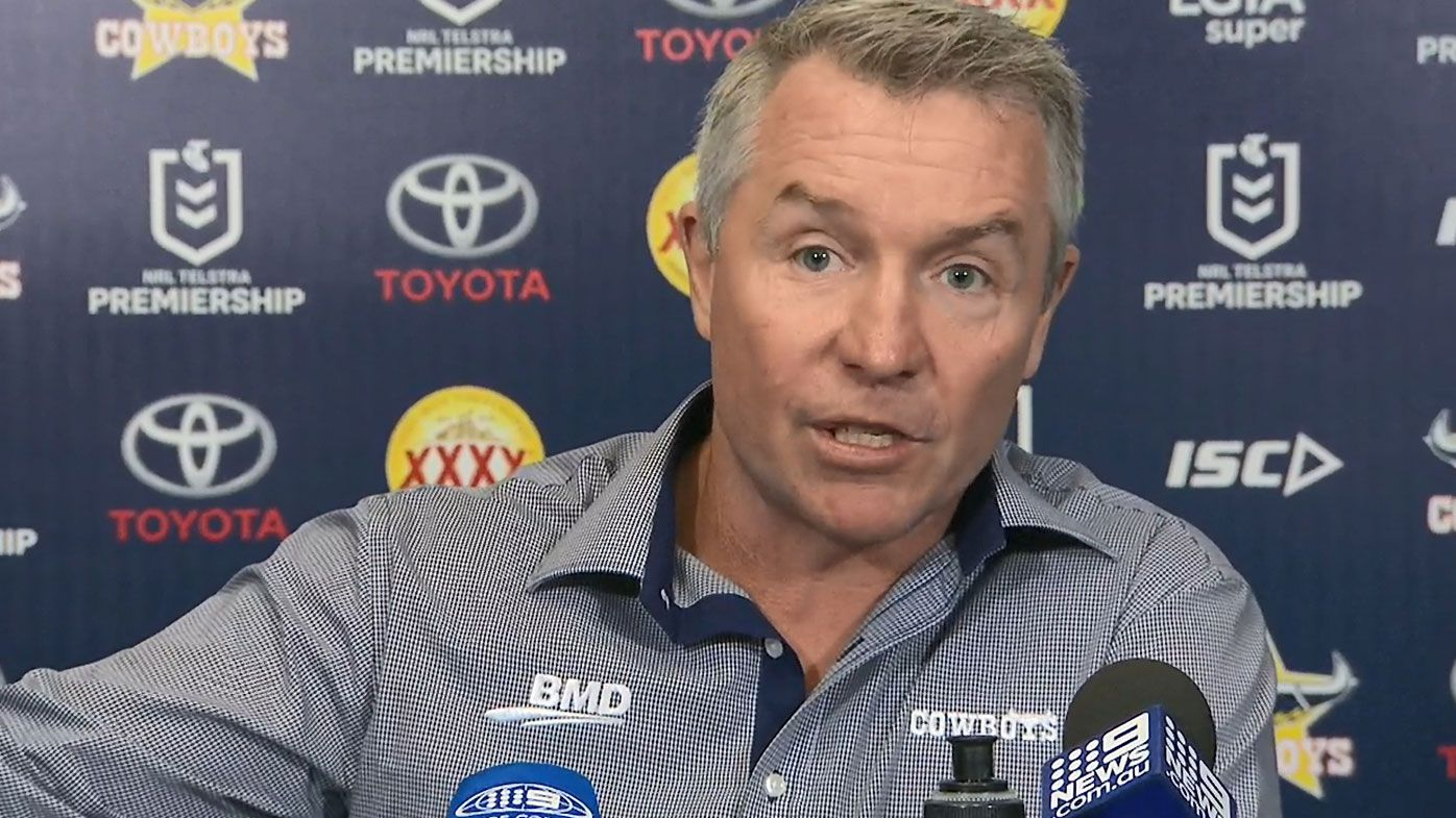'An absolute debacle': Cowboys coach Paul Green fumes at referees after controversial injury play-on