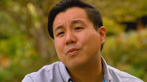 Curtis Cheng's son Alpha said in a way, he felt strength from his father. (A Current Affair)
