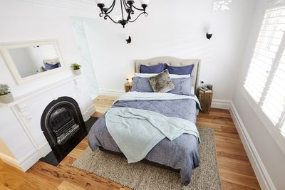"""""""I can't believe two guys named 'Sticks and Wombat' could turn out a room like this,"""" said Shaynna."""