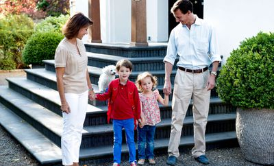 Prince Joachim and Princess Marie move, 2014