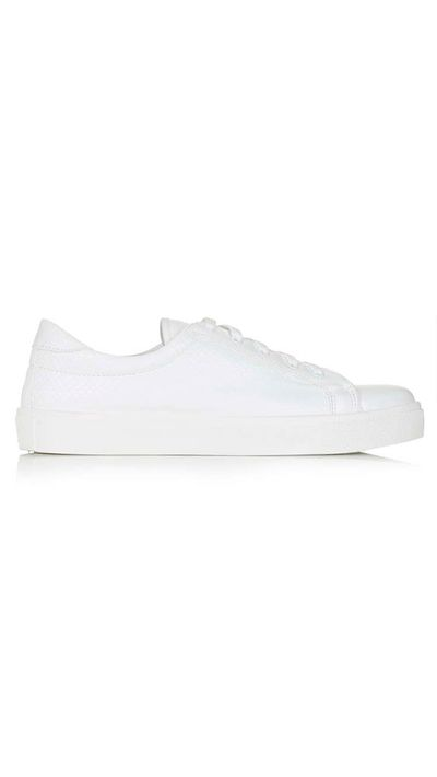 <p>The white sneaker</p>