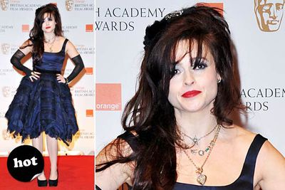 Some people will deem this look a total fashion trainwreck. Which is exactly what makes it fantastic. Love you, Helena!