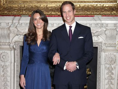 Prince William and Kate Middleton announce their engagement, 2010