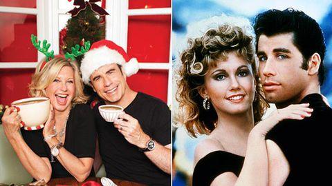 John Travolta and Olivia Newton-John had 'crushes' on each