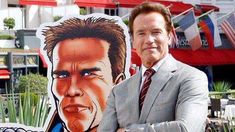 Arnie's TV show terminated after affair revelations