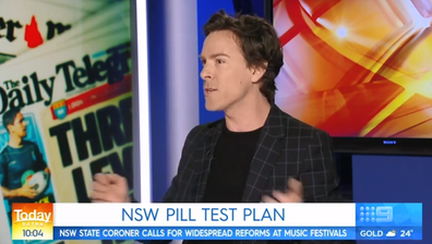 Nova's Tim Blackwell has spoken out in support of pill testing.