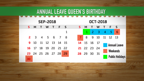 A bit of planning can extend your Queen's Birthday long weekend.