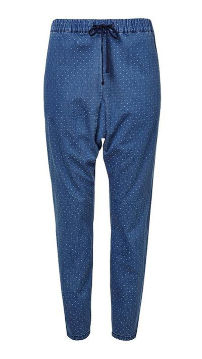 """<a href=""""http://www.seedheritage.com/pants/soft-spot-realaxed-pant/w1/i12658022_1001335/"""" target=""""_blank"""">Soft Spot Relaxed Pant, $99.95, Seed</a>"""