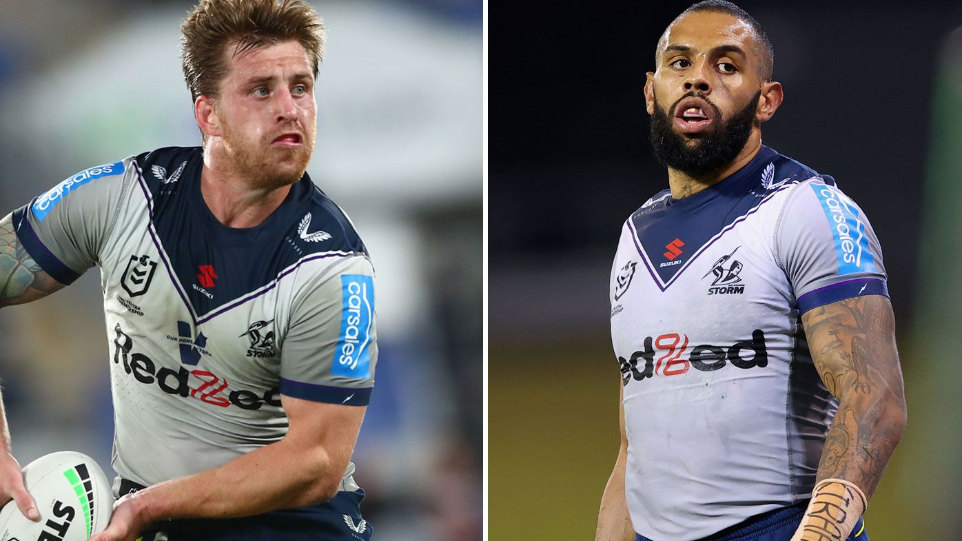 Cameron Munster and Josh Addo-Carr are under an injury cloud for the first week of finals.