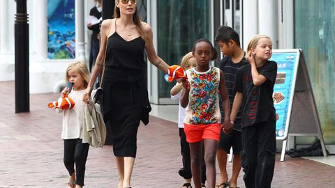 Angelina Jolie's fun-filled weekend in Sydney: See what she and the kids got up to!