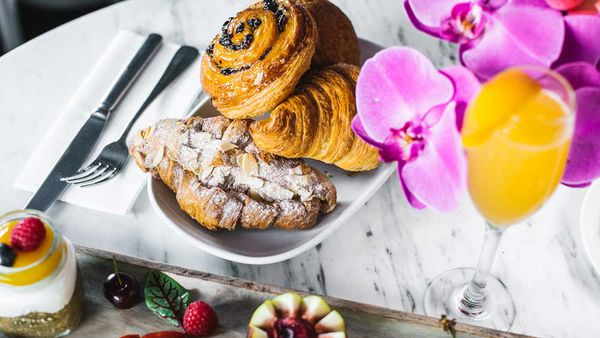 Almond croissant by Ben Varela for The Royal Hotel Paddington