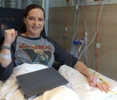 Eleni cancer Chris O'Brien Lifehouse chemo