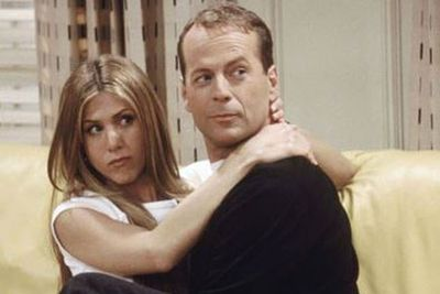 It's not about the money! <br/><br/>Actor Bruce Willis donated his <i>Friends</i> appearance fee to charity, after losing a bet on the set of <i>The Whole Nine Yards</i>... to co-star Matthew Perry. <br/><br/>While some may call him unlucky, we can think of worse things than kissing Jennifer Aniston for an entire two episodes! <br/>