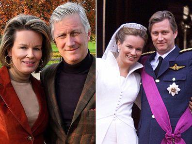 Belgian royals celebrate 20th wedding anniversary Queen Mathilde King Philippe