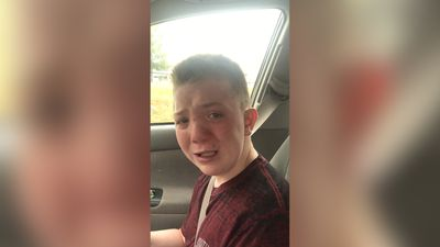 Boy's tearful plea to bullies goes viral