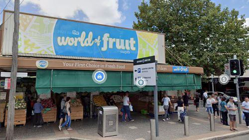 A person with COVID-19 worked at Campsie World of Fruit on a number of days last week.