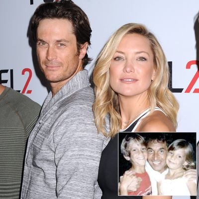Kate and Oliver Hudson vs. Bill Hudson