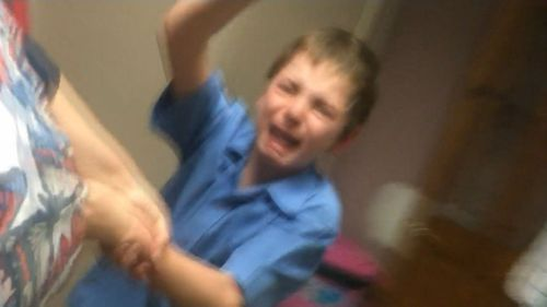 Logan has severe autism.