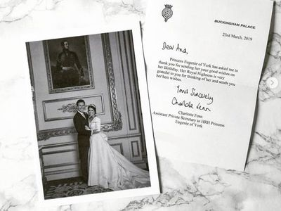 Never-before-seen photo from Princess Eugenie's wedding