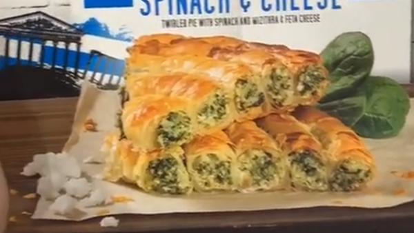 Aldi Spanakopita Spinach and Cheese