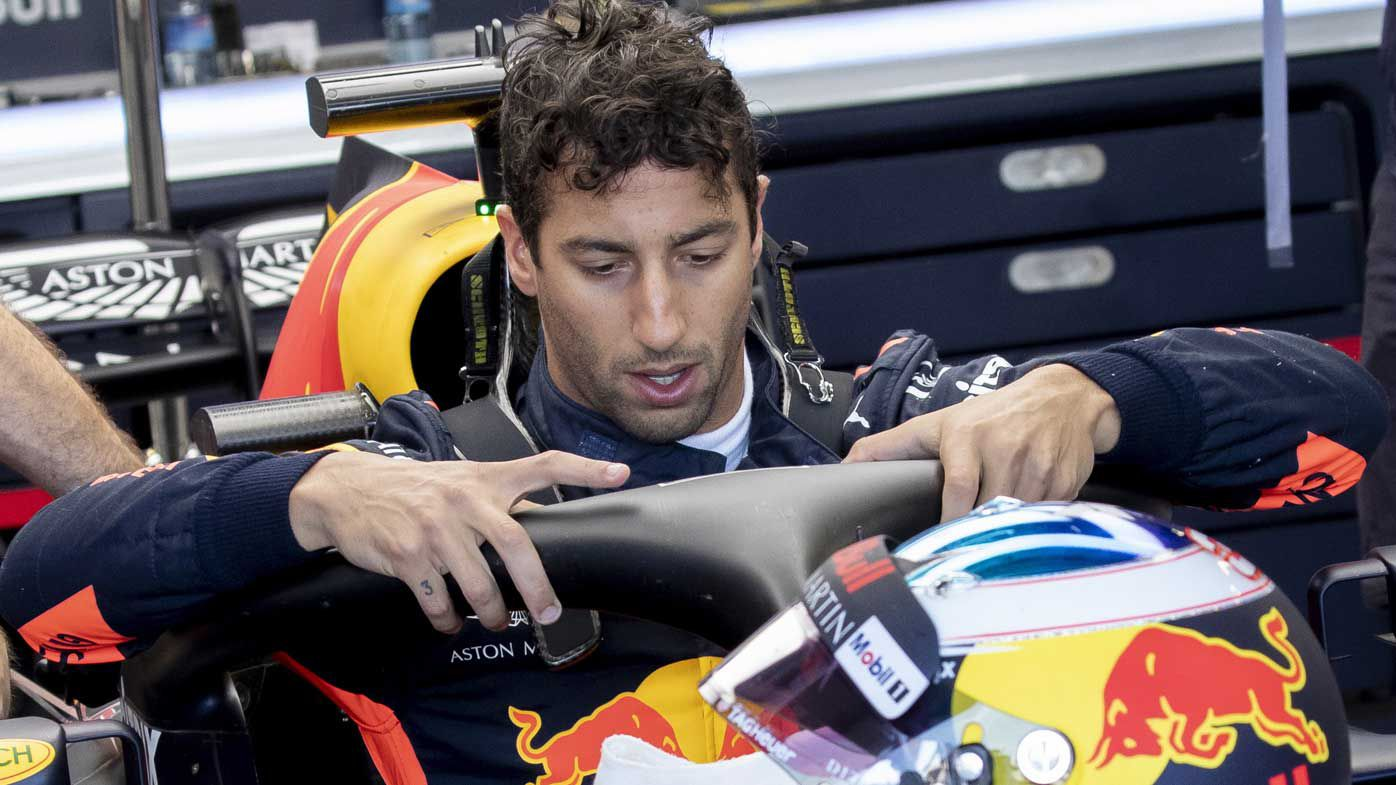 German GP penalty confirmed for Ricciardo