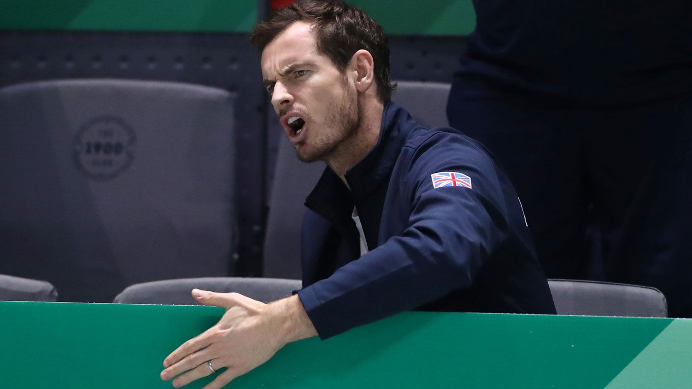Andy Murray out of Australian Open with pelvic injury suffered in Davis Cup