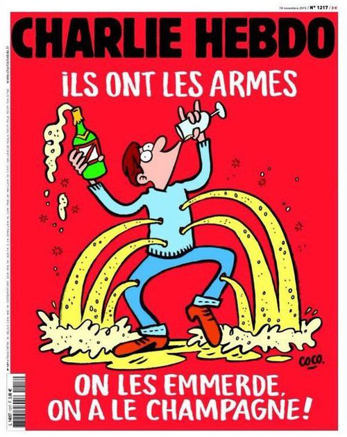 New Charlie Hebdo cover celebrates French culture in the wake of Paris attacks