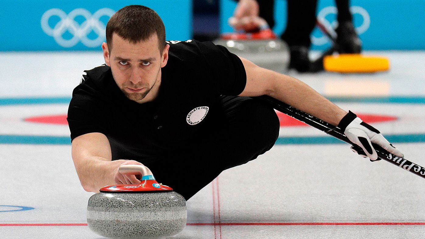 Winter Olympics: Curler Alexander Krushelnitsky suspected in doping scandal which could hurt Russian status hopes