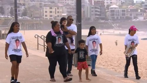 "Tui's family were at the launch of the ""Tui-Tube"" today. (9NEWS)"