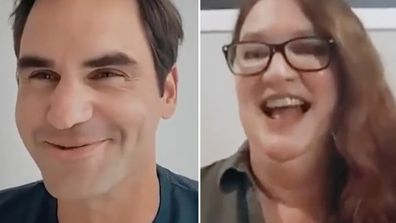 Australian 'nurse from the suburbs' gets call from Roger Federer