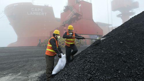 China coal imports