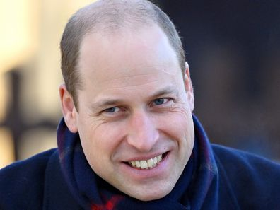Prince William tour dogs