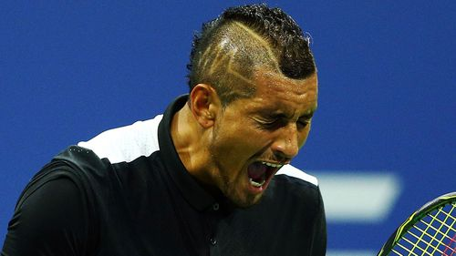 Kyrgios said he has learnt to 'keep your mouth shut at times'.