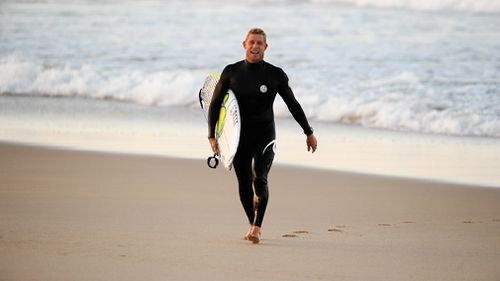 Three-time world surfing champion Mick Fanning has announced his professional retirement from the sport (AAP).