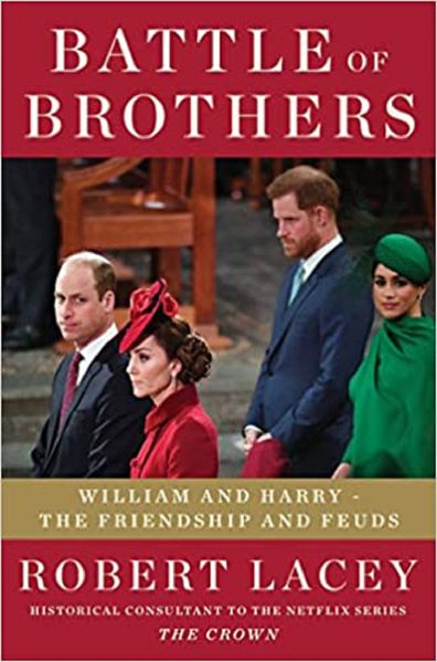 William and Harry book out in October.
