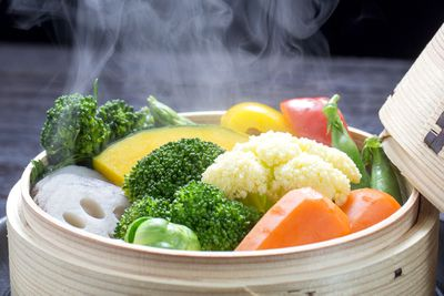 Vegetables: Steaming