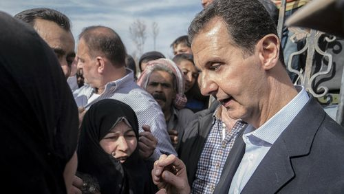 Syrian dictator Bashar al-Assad has been accused of using chemical weapons against civilians. (AAP)