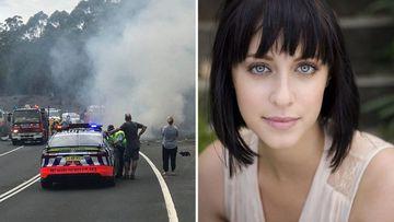 Jessica Falkholt crash death