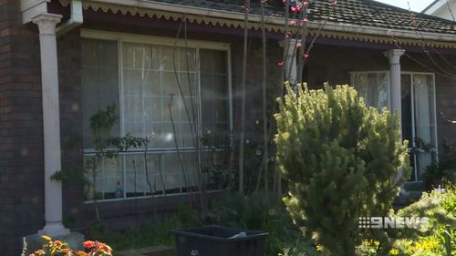 The home was broken into at about 6.30am.