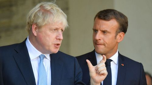 Johnson and Tusk trade barbs over Brexit at G7