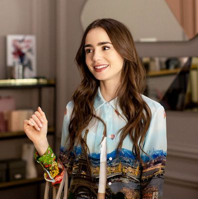 Lily Collins stars as Emily in the show