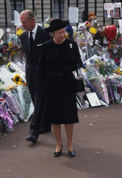Queen Elizabeth Princess Diana brooch