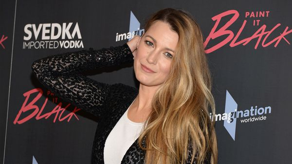 Blake Lively - 14 months after baby and looking good. Image: Getty.