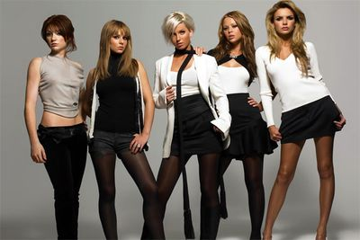 Cheryl was the dimpled one in generic-looking babe band Girls Aloud...