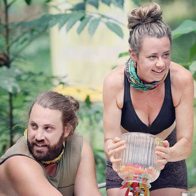 AK and Phoebe on Survivor.